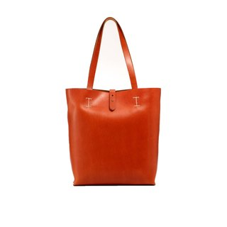 Tanned - original series - Japanese vegetable tanned original tote bag - light brown