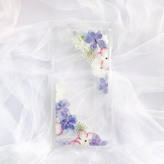 Pressed Flower Phone Case /  Customized phone case /  model:OPPO F1
