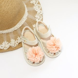 Hawaii Summer Flower Baby Sandals - Almond Rice