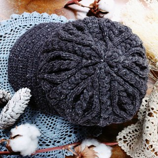 Handmade - traditional twist - beret / cap - wool cap