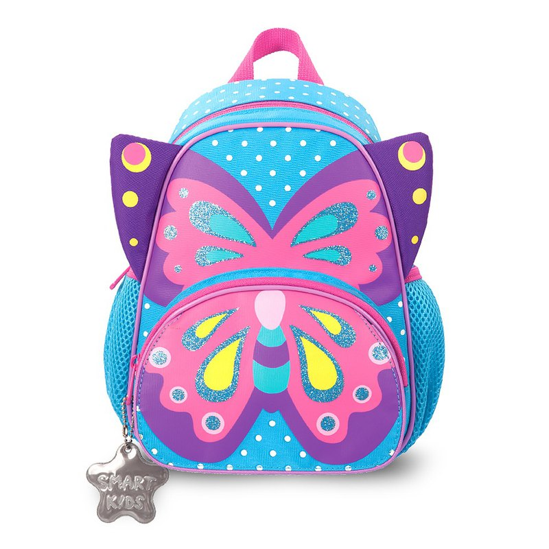 Tiger Family Breathable Decompression Backpack - Butterfly Sophie (Small) [Gifts] Boxed 2B Large Triangle Pencil (6 Pack)