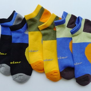 Cotton functional professional air jogging socks (male) Sapphire (tri-color optional)