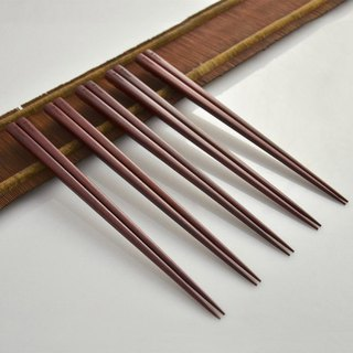 Dipper natural rosewood lacquer chopsticks group -5 double