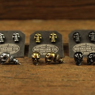 F.T.W Skull Earrings Type2 F.T.W骷髏耳環Type2