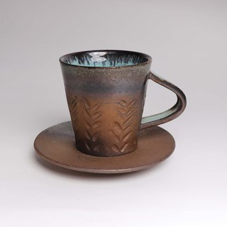 Liuxin Azure engraved coffee cup group