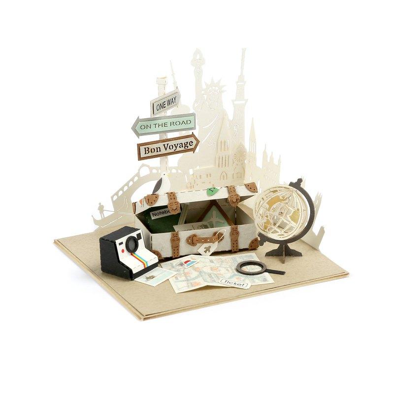 【Jeantopia】紙雕工藝 好時光DIY材料包 旅行 | 9026616
