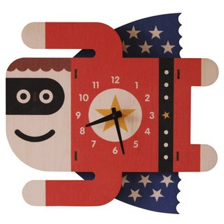 modern moose-3D clock-SUPERBOY CLOCK