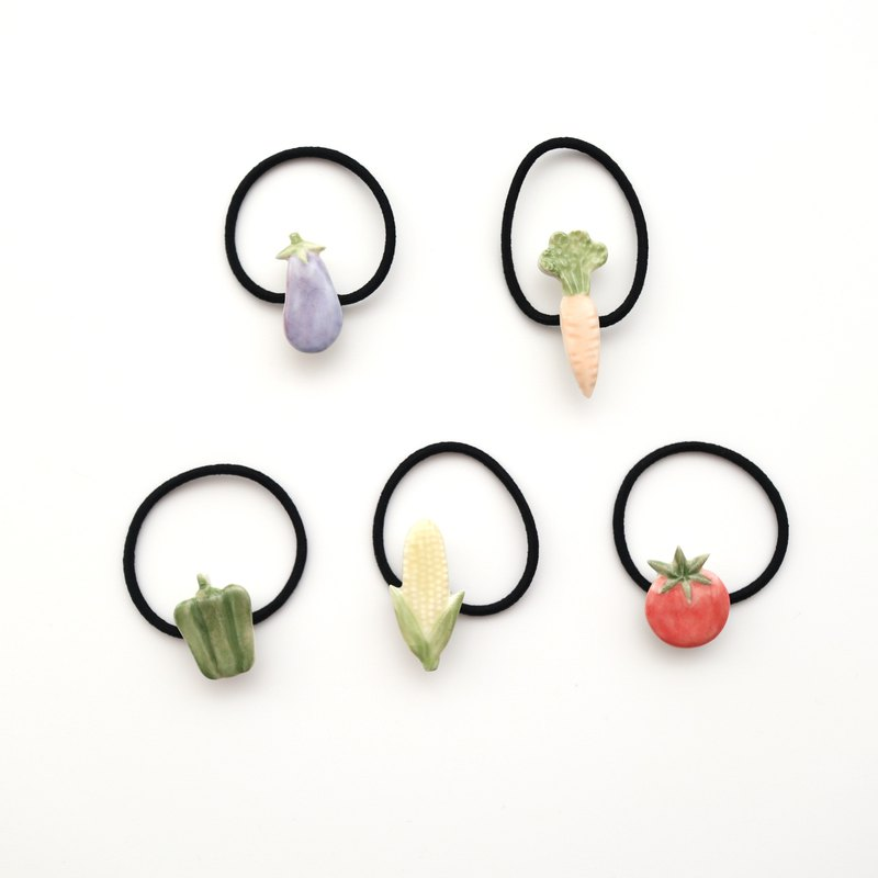 Vegetable hair tie