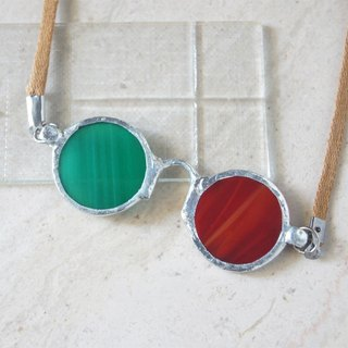 Red-green anaglyph glasses-Necklaces