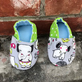Funny elephant - toddler shoes. baby shoes