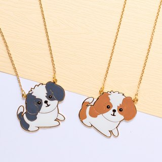 Shih Tzu hand-made long chain