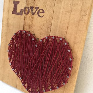[6618 yo tail] gospel Creation series wooden wall hangings home decoration works of love
