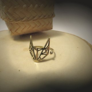 WABY Ring Fox Geometric