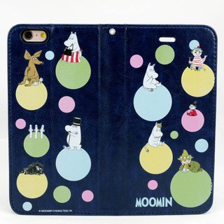 "Moomin Moomin genuine authority - Magnetic phone holster: [Rainbow Bubble (TYC)] ""iPhone / Samsung / HTC / ASUS / Sony"""