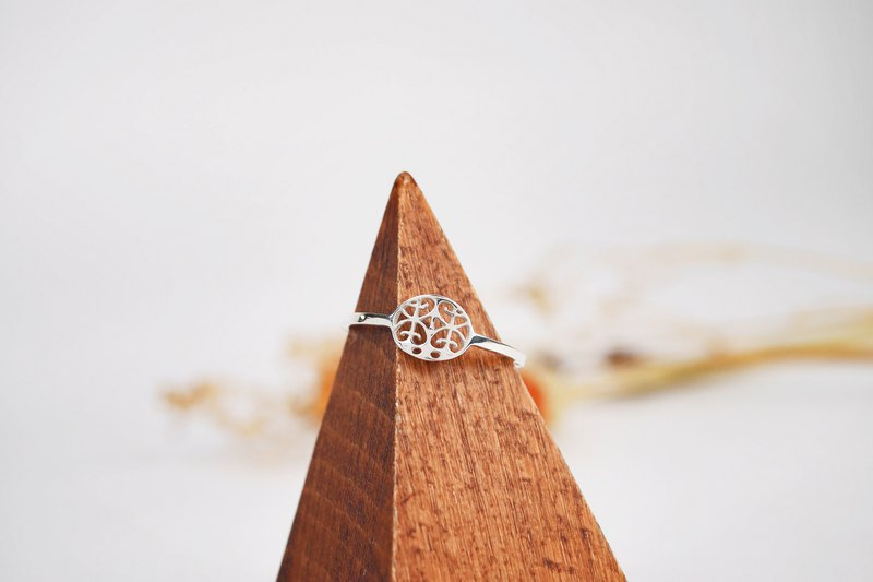[Window Flower Series] Mini Window Flower No. 3 Round Ring