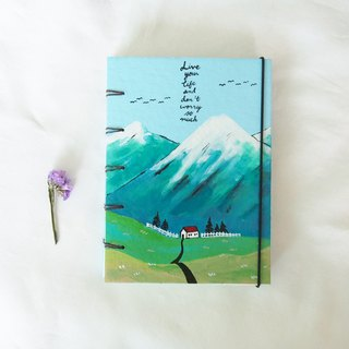 Happy holiday.Notebook Handmadenotebook Diary 筆記本 journal