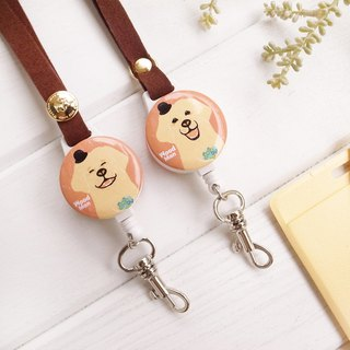 Golden Retriever, Extendable card holder