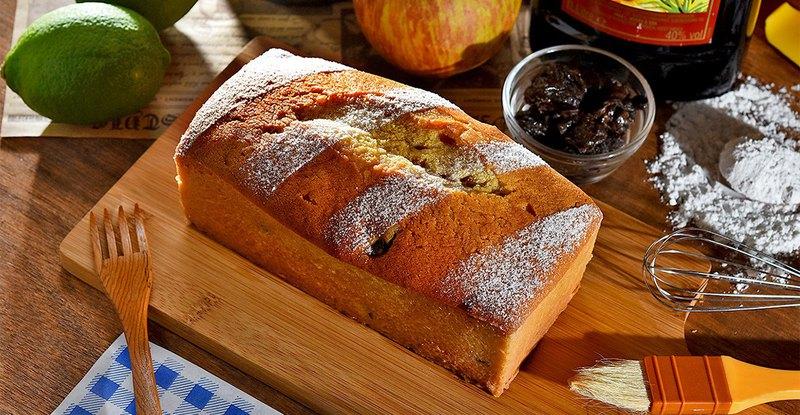 蘭姆桂圓 /米香磅蛋糕 /無麩質