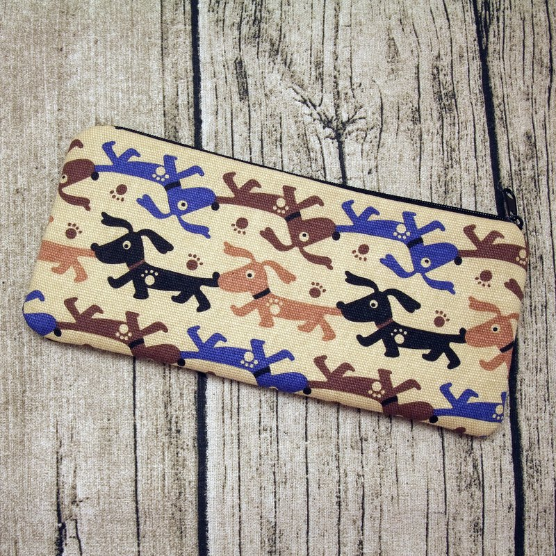 Large Zipper Pouch, Pencil Pouch, Gadget Bag, Cosmetic Bag (ZL-41)