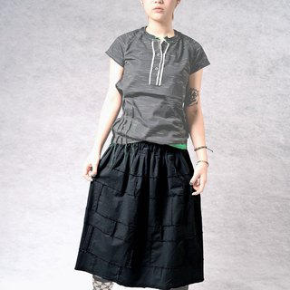 Irregular movement stitching skirt