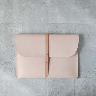 Vegetable tanned leather cowhide leather Macbook Pro 13吋15吋 leather case clutch