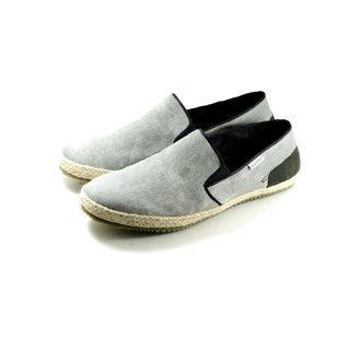 [Dogyball] simple urban men's shoes natural straw / super soft water-proof lazy canvas upper