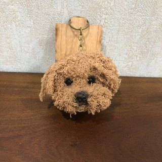 Small VIP dog head [feiwa 霏 手 hand] pet doll (spot area) key ring