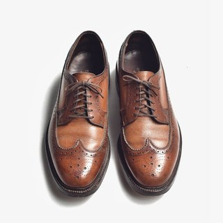 70s 美製雙調皮鞋|Hanover Two-tone Wingtip Blucher US 9.5E EUR 43