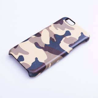 AOORTI :: Apple iPhone 6s/6s Plus Handcrafted Leather Coat Case/Mobile Phone Case - Jungle Green Camo