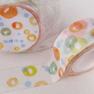 Micro-bubble paper tape