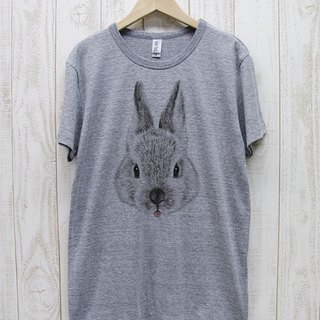 ronron RABIT Tee Beh (Heather Gray) / RPT 043 - GR