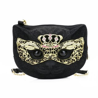 Adamo 3D Bag Original Crown Eye Mask Cat Sling Bag