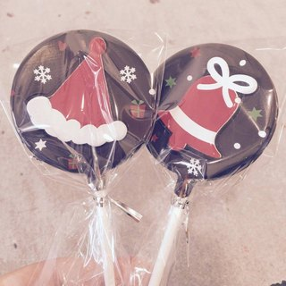 [C.Angel] chocolate lollipops / Christmas chocolate / wedding small objects