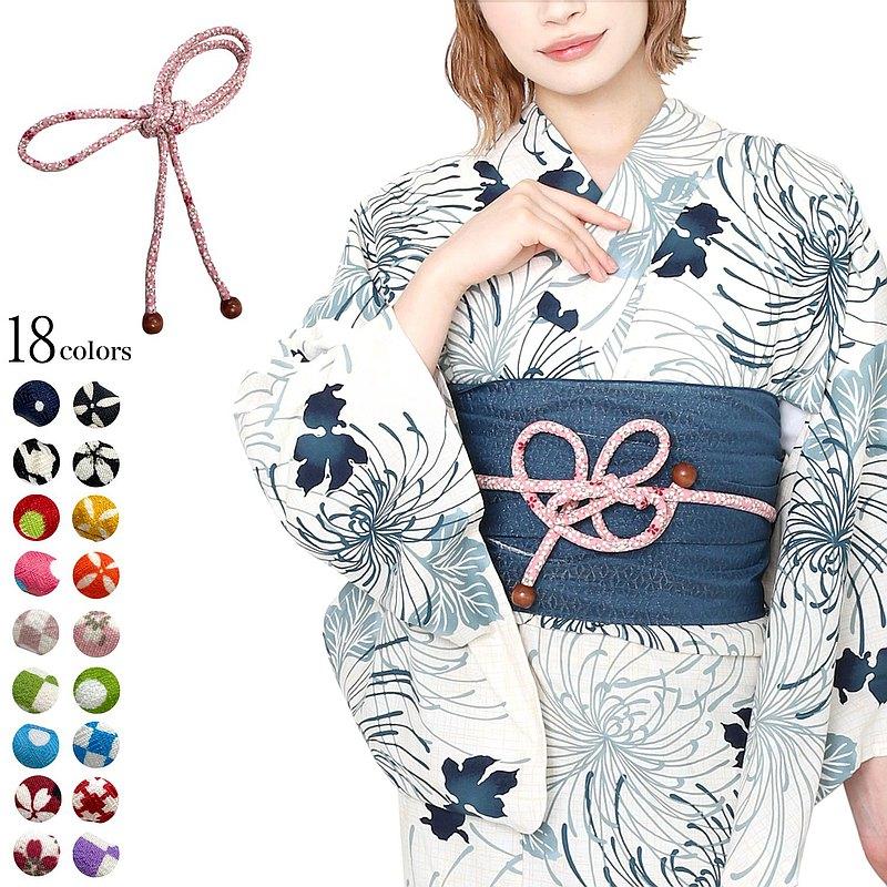 日本 和服 浴衣 配件 小物 腰帶 繩結