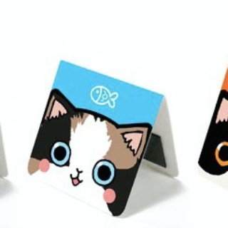 & Cabinet Cat Magnet Bookmark - Basic