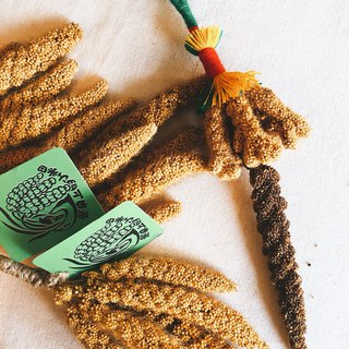 Aboriginal traditional millet charms
