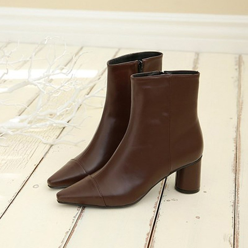 PRE-ORDER 韓國人手製 MACMOC Latte (Brown) 短靴