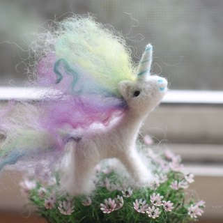 Rainbow pony pastel color small set