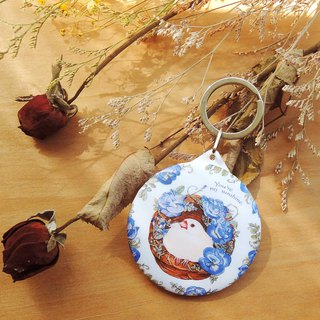 Bird Bird Nest Portable Keyring