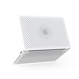 AndMesh MacBook Pro 13-inch Japan QQ network soft crash protection cover - white (4571384955966)