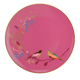 Sara Miller London for Portmeirion Chelsea Collection Cake Plate - Pink