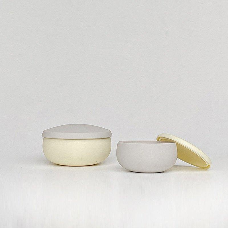 【人氣熱賣】Besovida  雙雙全矽膠環保碗 / 淡檸黃
