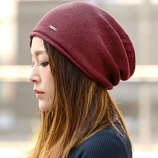 Made in JAPAN 100% Silk Slouch Beanie - Seamless - Chemo Beanie