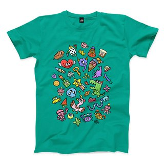 BRAINSTORM - Water Duck Green - Neutral T-Shirt