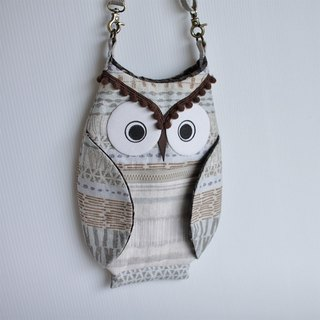 Owl oblique backpack No.4