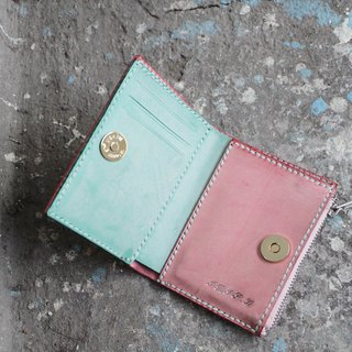 Italian leather handmade custom wallets