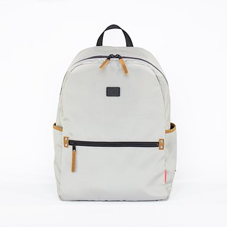 Super Light Oxford Nylon Backpack / Grey
