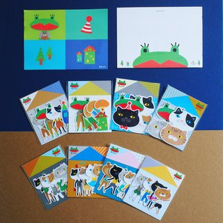 E*group House Series 8 Pack Discount Free Shipping Plus 1 Postcard Waterproof Sticker Styling Stickers Sticker Pack