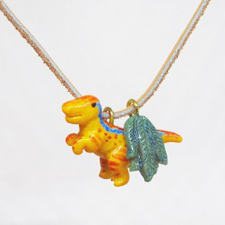 Velociraptor handmade necklace
