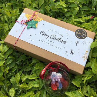 Christmas Gift A Fruit Dried Fruit Tea Handmade Cookies Exchange Gifts